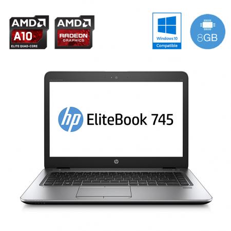 HP EliteBook 745 G4 - SSD, AMD Radeon grafika