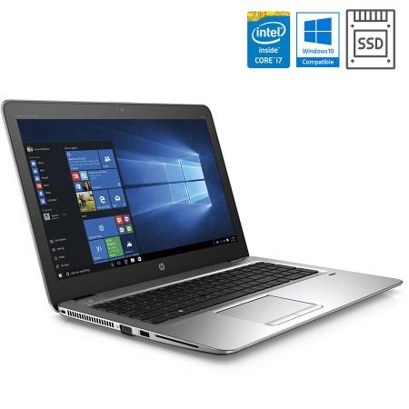 """HP EliteBook 850 G3 15"""", Intel i7 (6. gen), SSD + Windows Pro"""