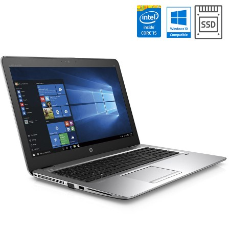 "HP EliteBook 850 G3 15"", Intel i5 (6. gen), SSD + Windows Pro"