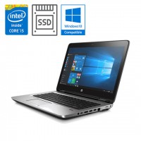 "HP ProBook 650 G3 15"", Intel i5 (7. gen), SSD + Windows Pro"