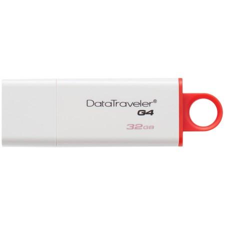 Kingston 32GB USB 3.0 DataTraveler I G4 (White + Red) EAN: 740617220469 *NOVO*