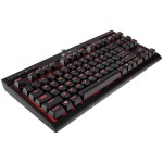 Corsair Gaming K63 Compact Mechanical Keyboard, Backlit Red LED, Cherry MX Red (NA) *NOVO*