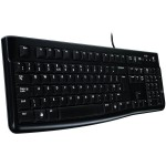 LOGITECH Corded Keyboard K120 - Business EMEA - Croatian layout - BLACK *NOVO*