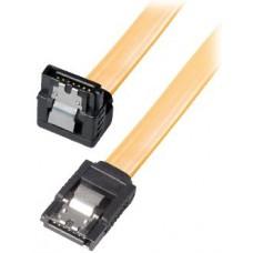Kabel HDD/SATA kutni, 0,5m, s kvačicom *NOVO*