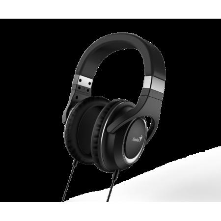 Genius HS-610, slušalice s mikrofonom, 3.5mm, crne *NOVO*