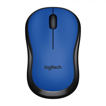 Logitech M220 Silent bežični optički miš, plava *NOVO*