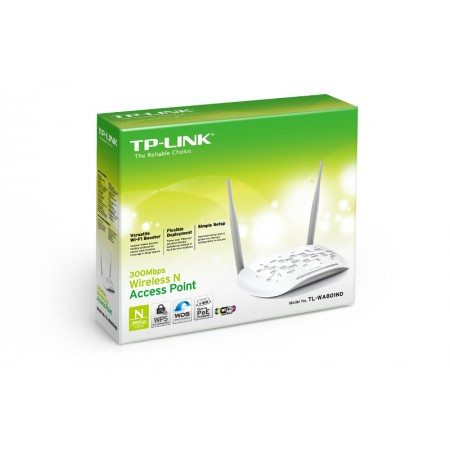TP-Link TL-WA801ND, 300 Mbps WLAN AP, 2 x 4dBi *NOVO*
