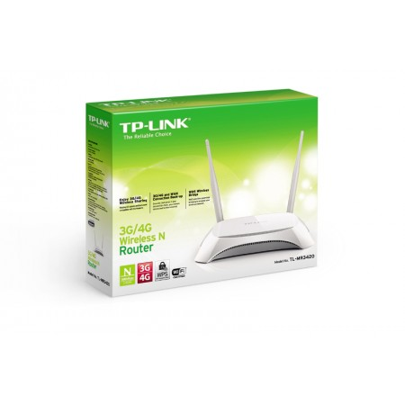 TP-Link TL-MR3420, 3G/4G Wireless N Router,300Mbps *NOVO*