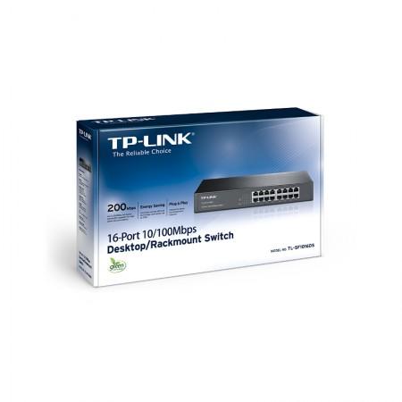 TP-Link TL-SF1016DS,16-port 10/100 switch *NOVO*