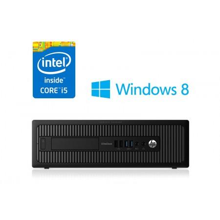HP EliteDesk 800 G1 - 4.gen Core i5 + SSD