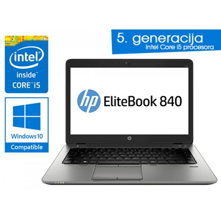 HP EliteBook 840 G2 - Intel i5-5300U (5.gen.)