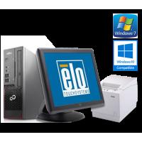 Touchscreen fiskalna blagajna (Fujitsu Esprimo C710 G, Elo Touch, TH-230 termalni pisač...)