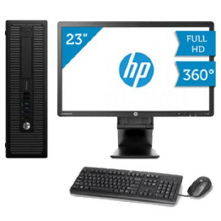 HP ProDesk 600 G1 + Monitor HP E231 23""